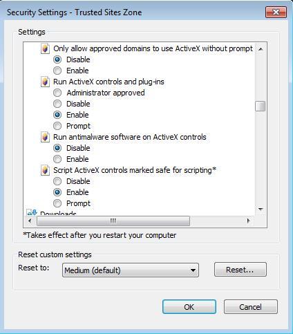 Install Genius Integrator ActiveX on Internet Explorer – Genius